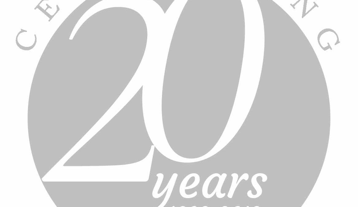 20th Year Logo - Randi Events